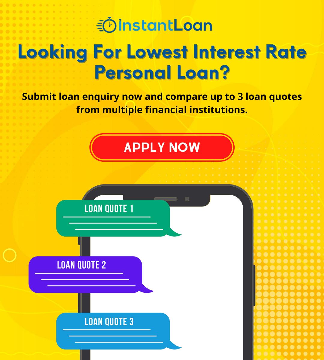 Instant Loan Personal Loan banner